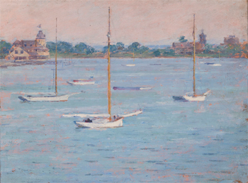 Yacht Club Basin, Cos Cob Harbor, 1894