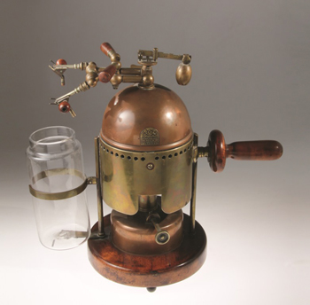 A Lister Spray machine, developed around 1880 by Arnold and Sons