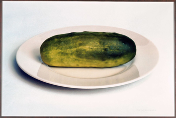 A Gursky Gherkin is Just a Very Large Pickle, 2001