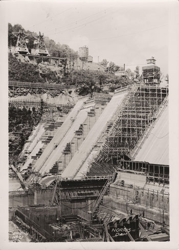Exhibition: Harvey Towns: 80th anniversary of the completion of Norris Dam