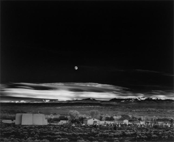 Moonrise, Hernandez, New Mexico, 1944