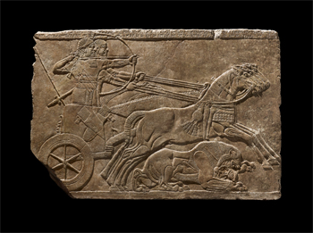 Royal Lion Hunt, 875 - 860 B.C,