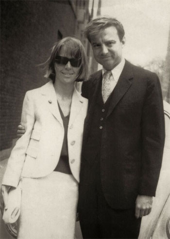 Seward and Cecelia Johnson, Cambridge, MA, 1966