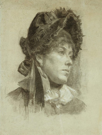 Portrait of a Woman, 1883