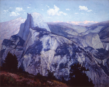 Yosemite, Evening from Glacier Point, 1918