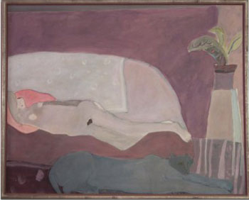 Nude with Panther, 1973