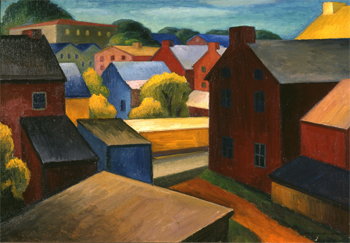 Rooftops, New Hope, c. 1931