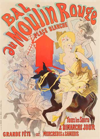 Bal du Moulin Rouge, 1889