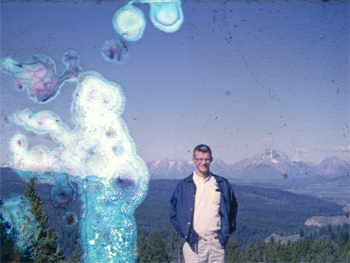 Dad in the Rockies