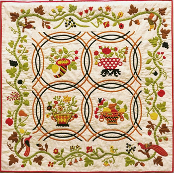 Exhibition: 19TH CENTURY BASKET QUILTS: American Quilt Study Group Challenge