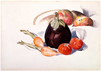 Eggplant, Carrots and Tomatoes, 1927