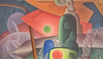 City Dynamism (detail), 1932