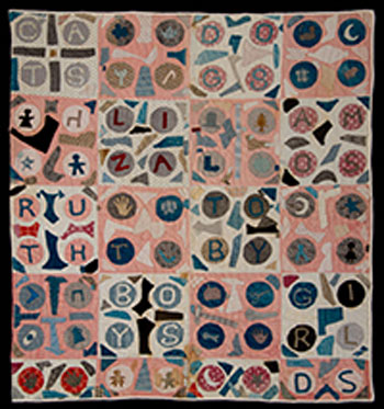 Exhibition: Quilts in the Baltimore Manner