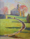 Plein-air Paintings of the Tennessee's State Capitol