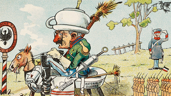 Exhibition: Wit as Weapon: Satire and the Great War